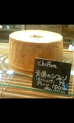 シフォンケーキの美味しいお店
