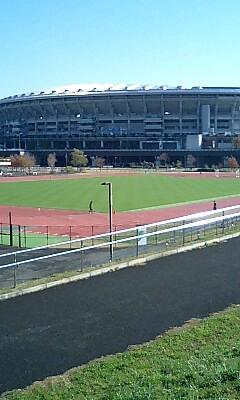 新横浜 日産スタジアムランニングコース