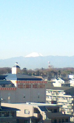 富士山みたくて
