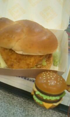 マクドナルドのフードストラップ
