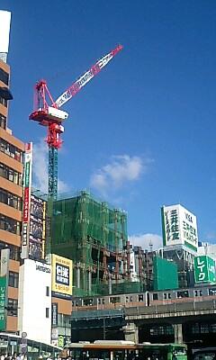 東急文化会館跡の開発
