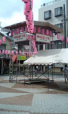 京王多摩川駅前 納涼盆踊り大会